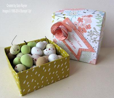 sweet sorbet box inside