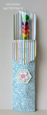 tag topper treat bag