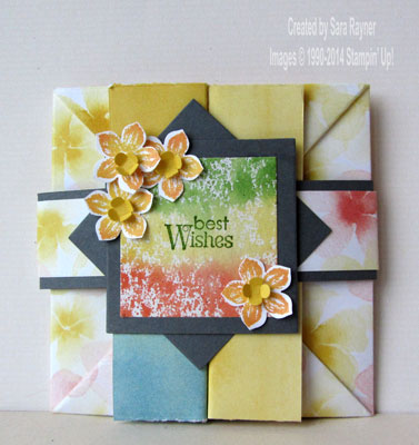 watercolor wonder box card