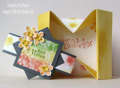 watercolor wonder box card inside