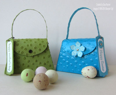decorative dots purse