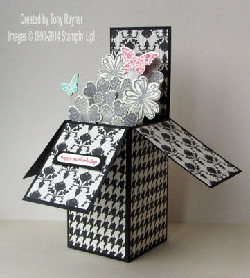 flower shop box card
