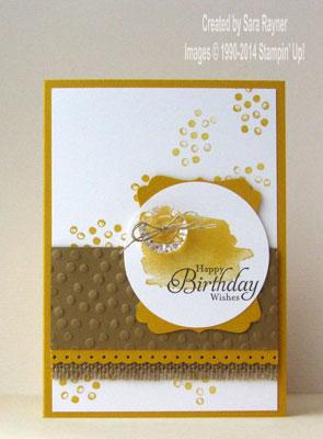 happy watercolor birthday