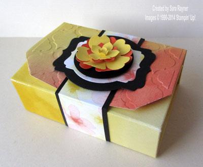 watercolor wonder gift box
