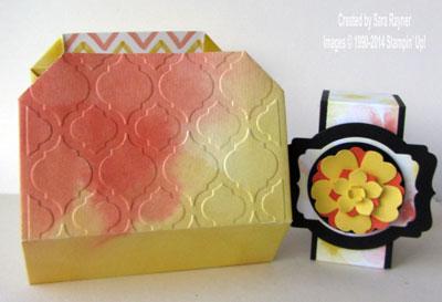 watercolor wonder gift box embossed lid