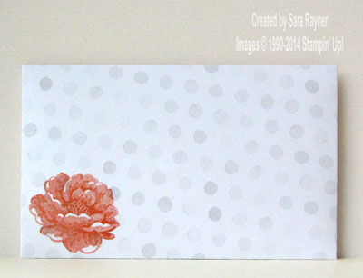 watercolor envelope