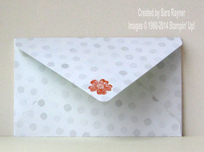 watercolor envelope back