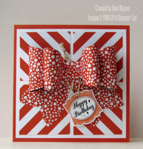 gift bow birthday card