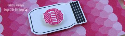 sweet taffy tag close up