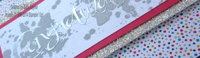 confetti celebration close up