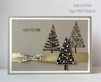 festival of trees xmas card