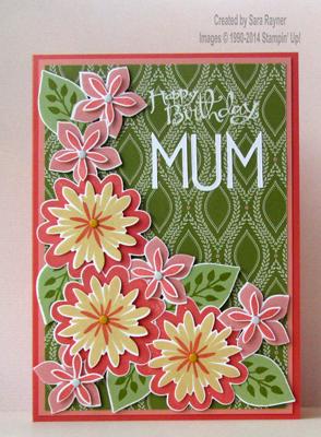 flower patch mum