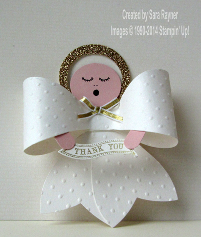 gift bow angel