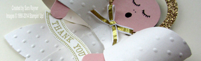 gift bow angel close up