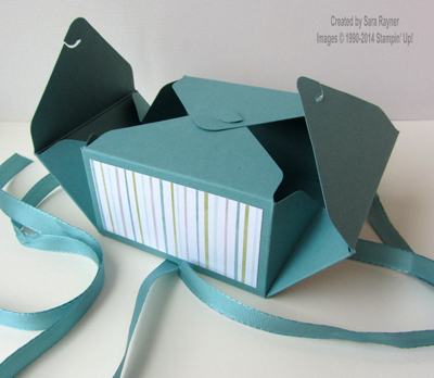 Short flat box