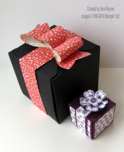 gift wrapped box duo
