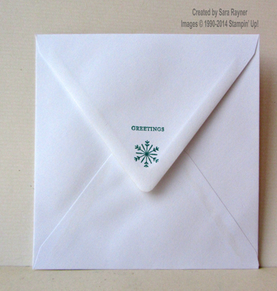 merry stars envelope