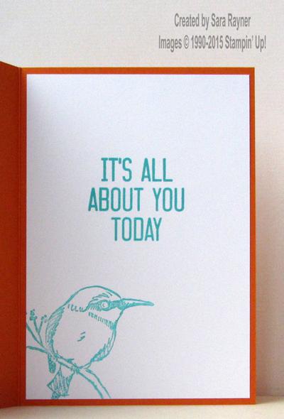 a happy thing bird inside