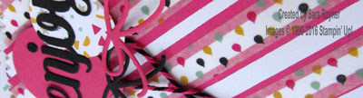 washi treat bag close up