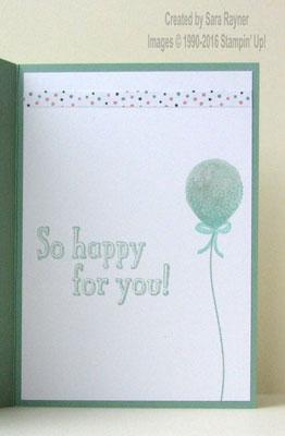 balloon congrats inside