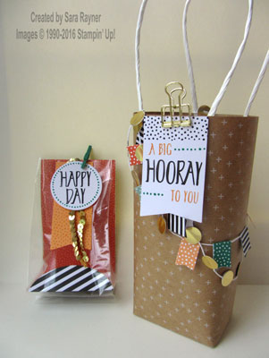 wrapped bags kit