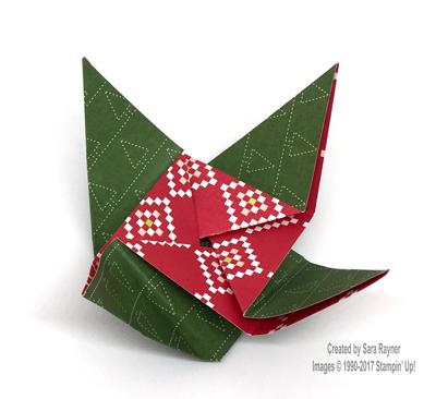 Origami Chocolate Holder Saras Crafting And Stamping Studio