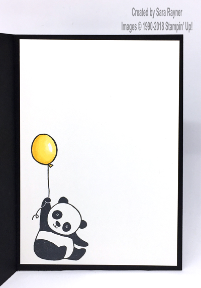 Party panda birthday card saras crafting and stamping studio card and popped up on the card front below the panda finally the panda was given some juggling balls by adding tutti frutti adhesive backed sequins bookmarktalkfo Image collections